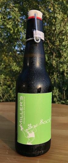 Eine von Miller's Biersorten: Das Bockbier, ungefiltert