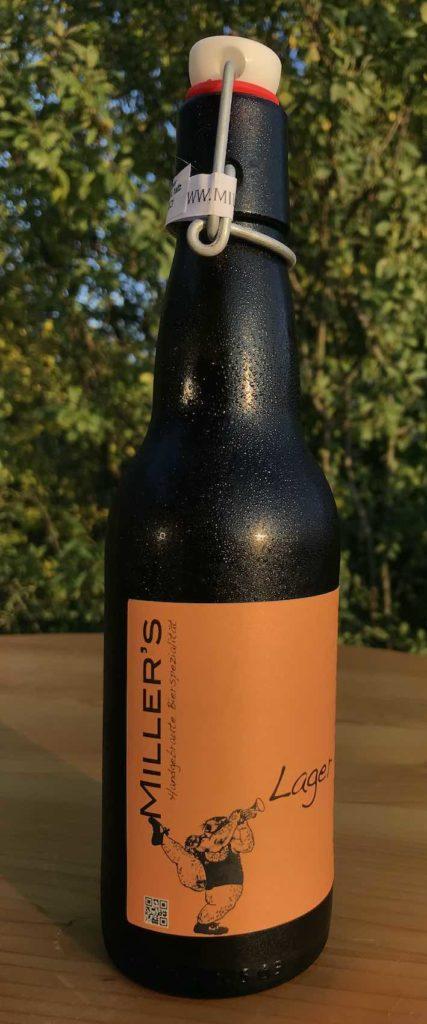 Eine von Miller's Biersorten: Das Wiener Lager, ungefiltert