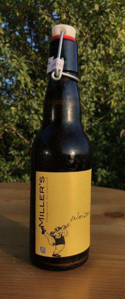 Eine von Miller's Biersorten: Das Weizenbier, ungefiltert
